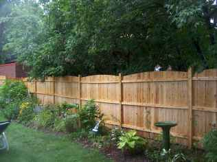 50 Stunning Backyard Privacy Fence Ideas Decorations And Remodel (39)