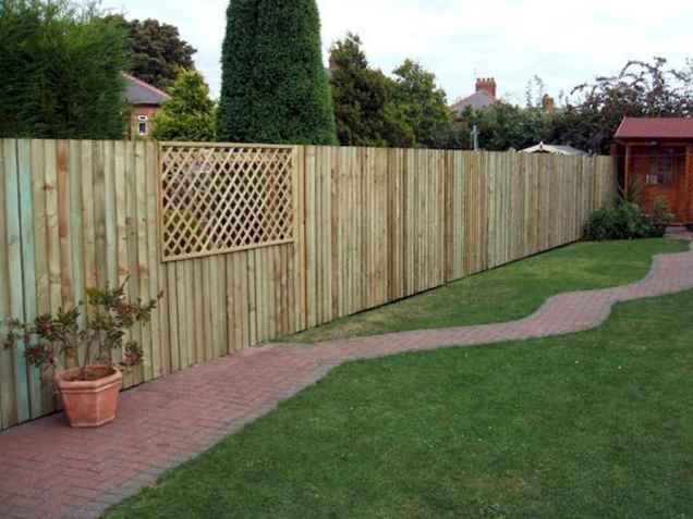 50 Stunning Backyard Privacy Fence Ideas Decorations And Remodel (49)