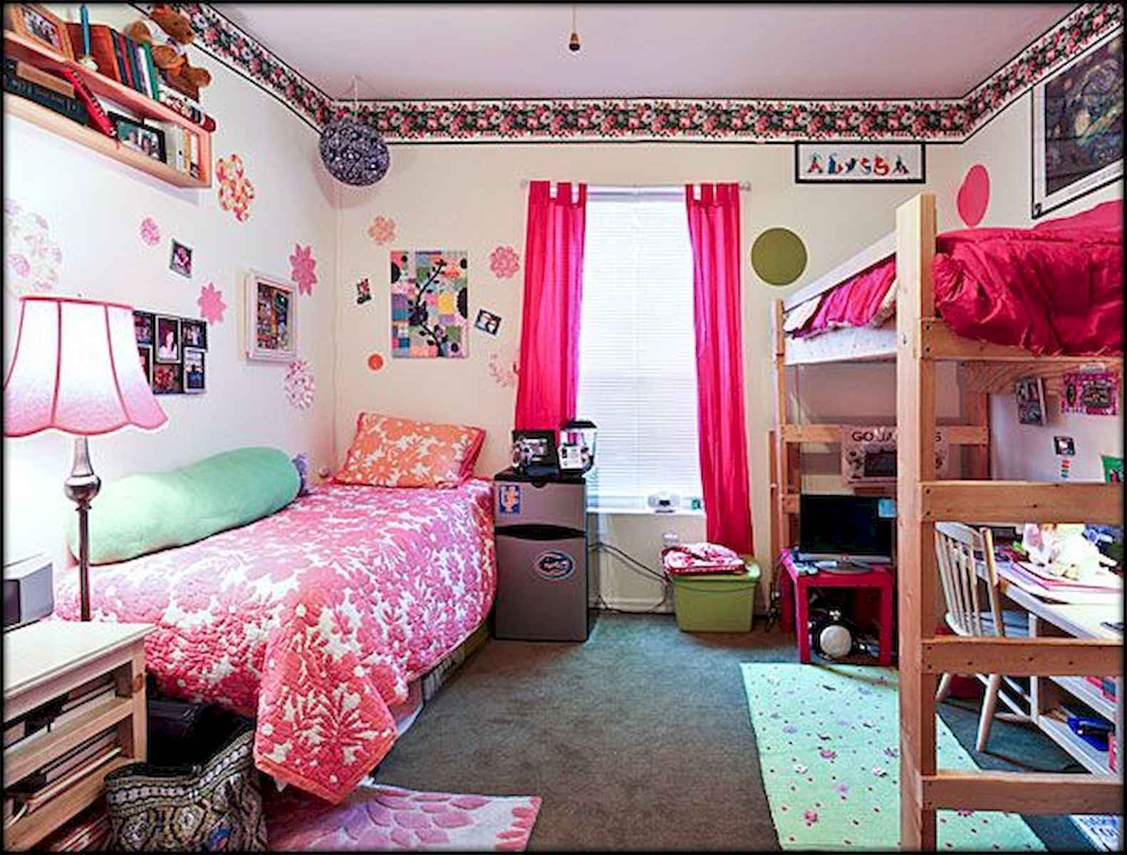 60 Gorgeous College Dorm Room Decorating Ideas And Makeover (27)