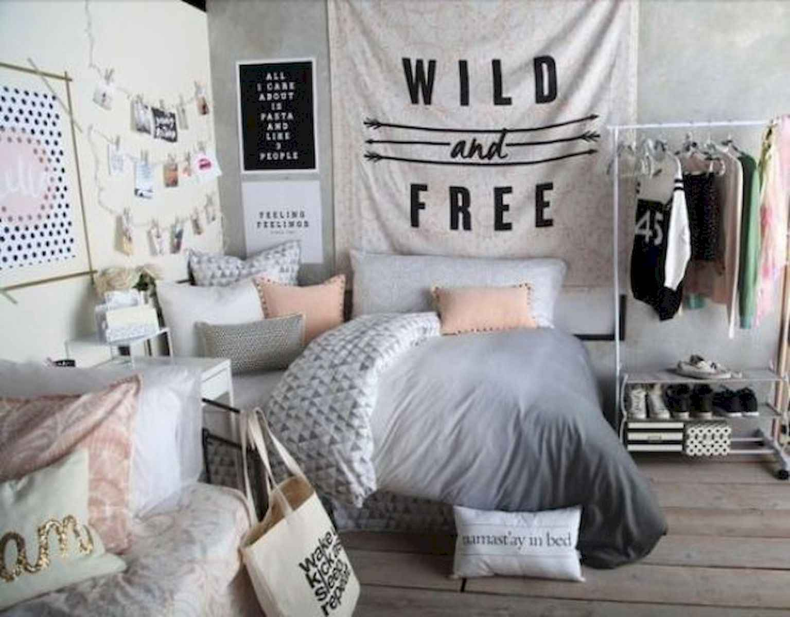 60 Gorgeous College Dorm Room Decorating Ideas And Makeover (3)
