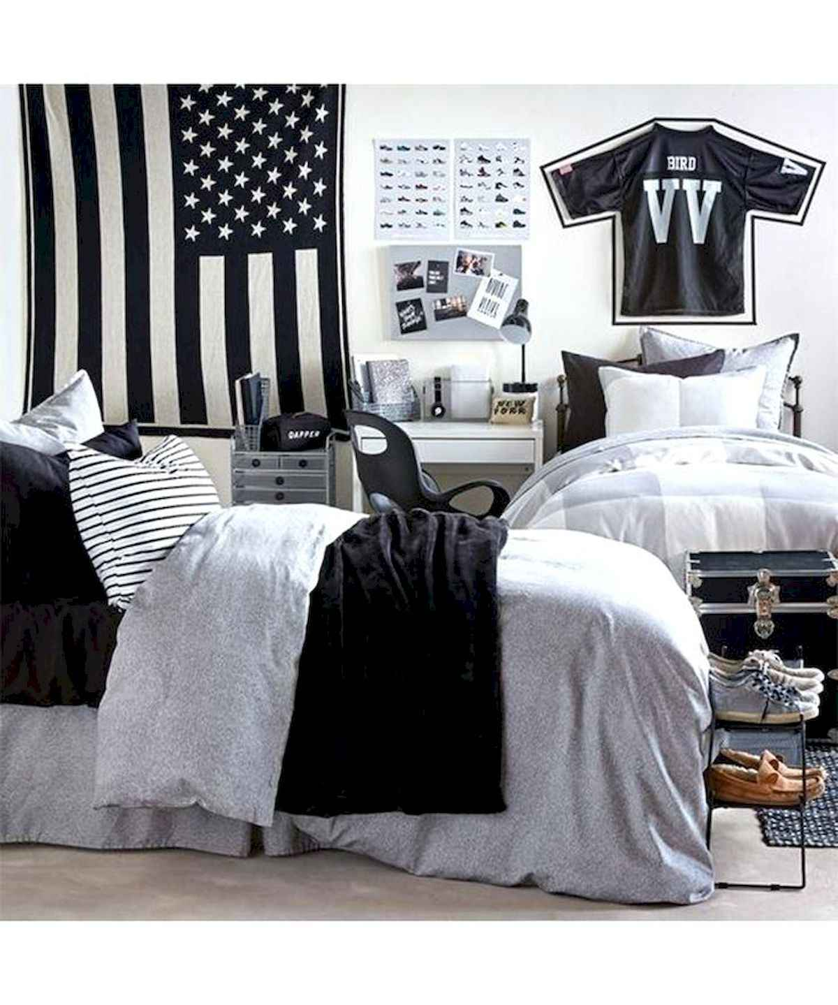 60 Gorgeous College Dorm Room Decorating Ideas And Makeover (39)