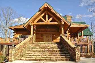 60 Rustic Log Cabin Homes Plans Design Ideas And Remodel (12)