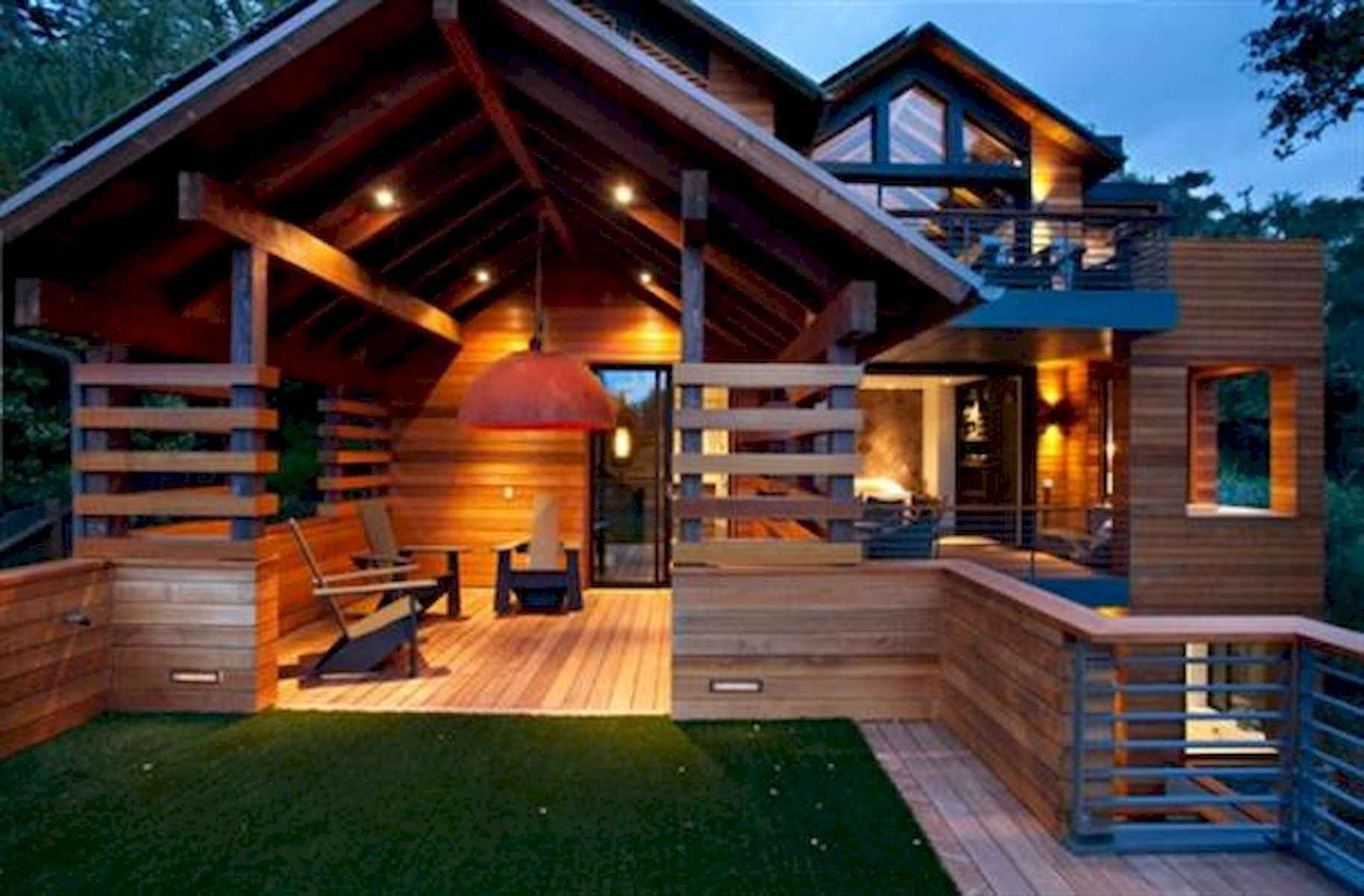 60 Rustic Log Cabin Homes Plans Design Ideas And Remodel (22)