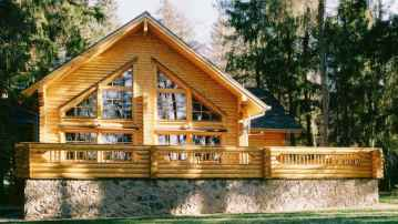 60 Rustic Log Cabin Homes Plans Design Ideas And Remodel (33)