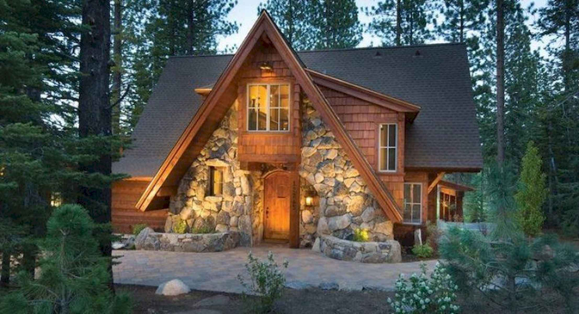 60 Rustic Log Cabin Homes Plans Design Ideas And Remodel (39)