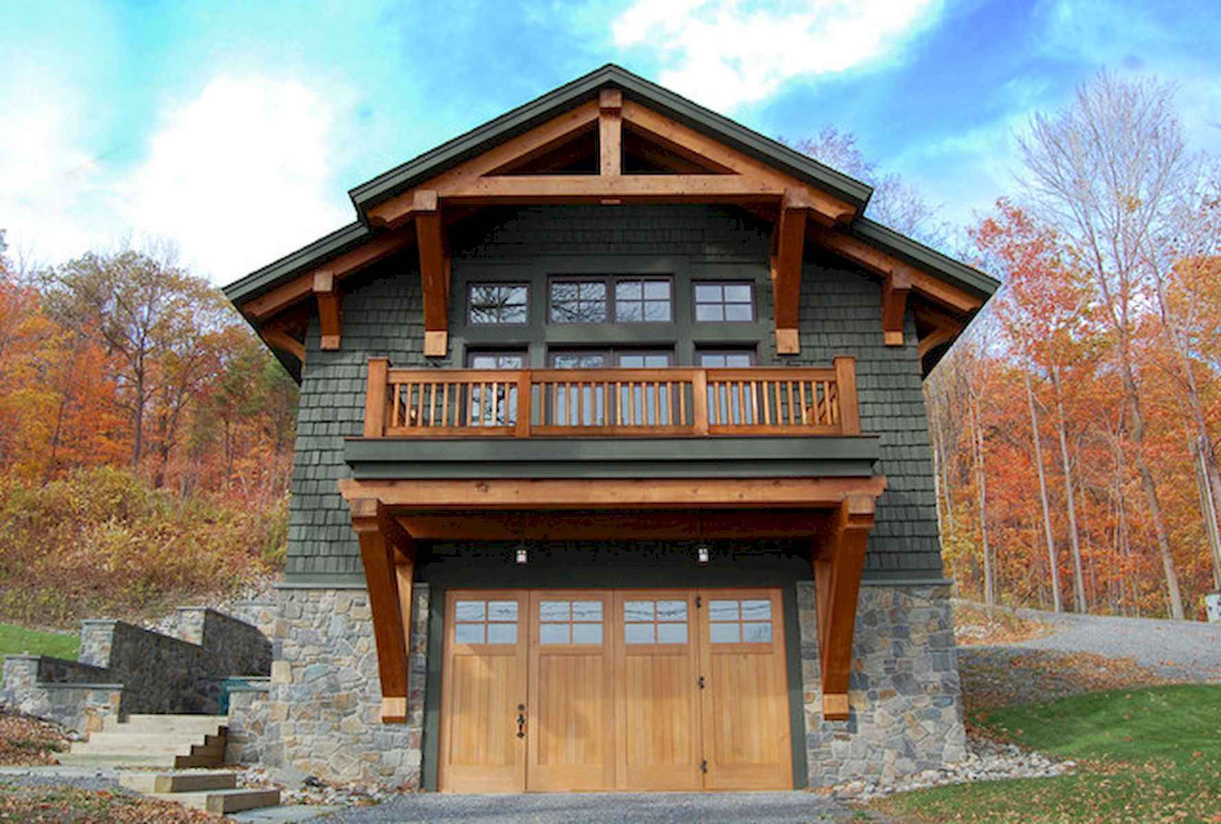 60 Rustic Log Cabin Homes Plans Design Ideas And Remodel (42)