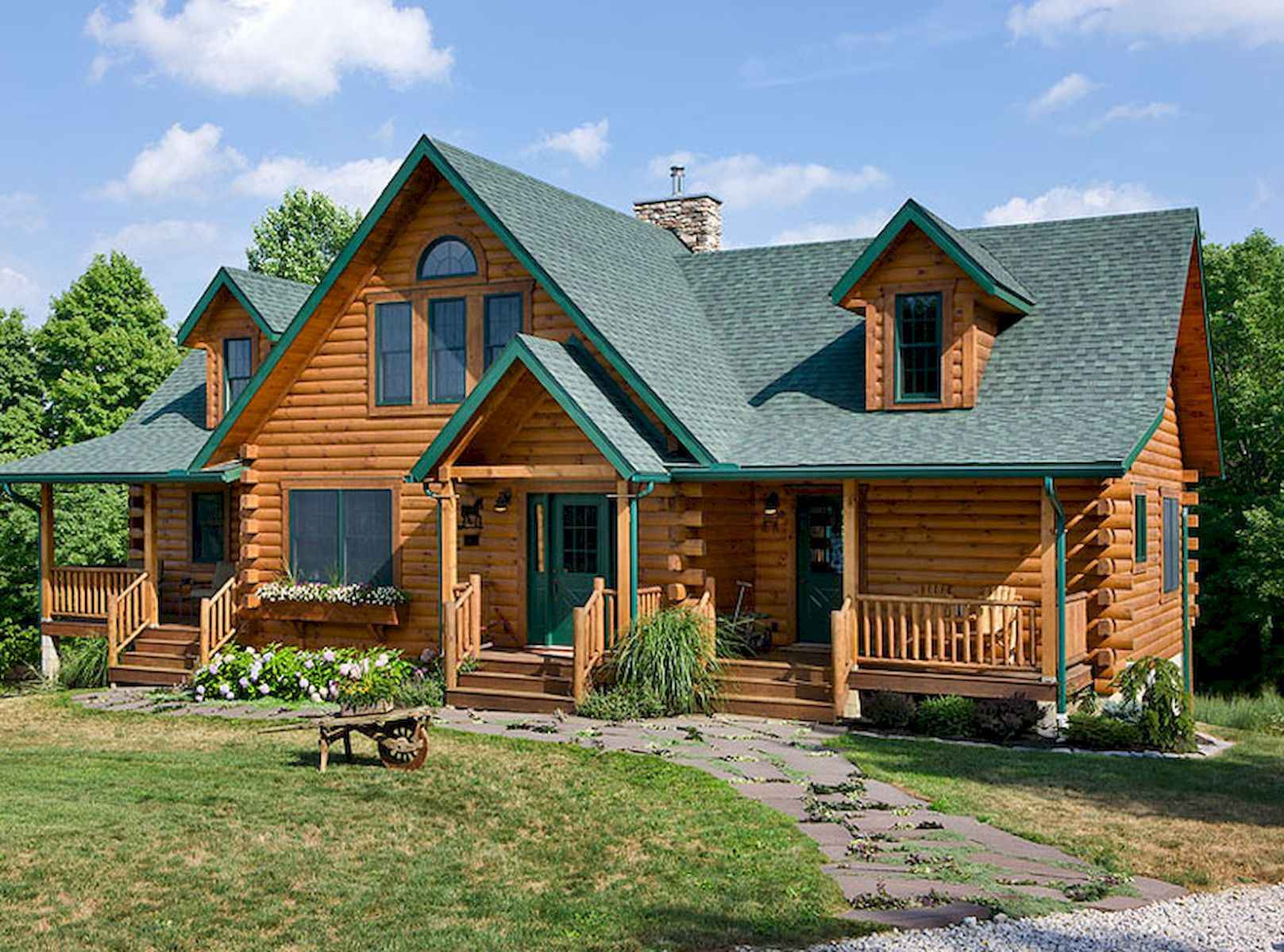 60 Rustic Log Cabin Homes Plans Design Ideas And Remodel (43)