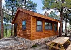 60 Rustic Log Cabin Homes Plans Design Ideas And Remodel (49)