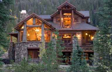 60 Rustic Log Cabin Homes Plans Design Ideas And Remodel (50)