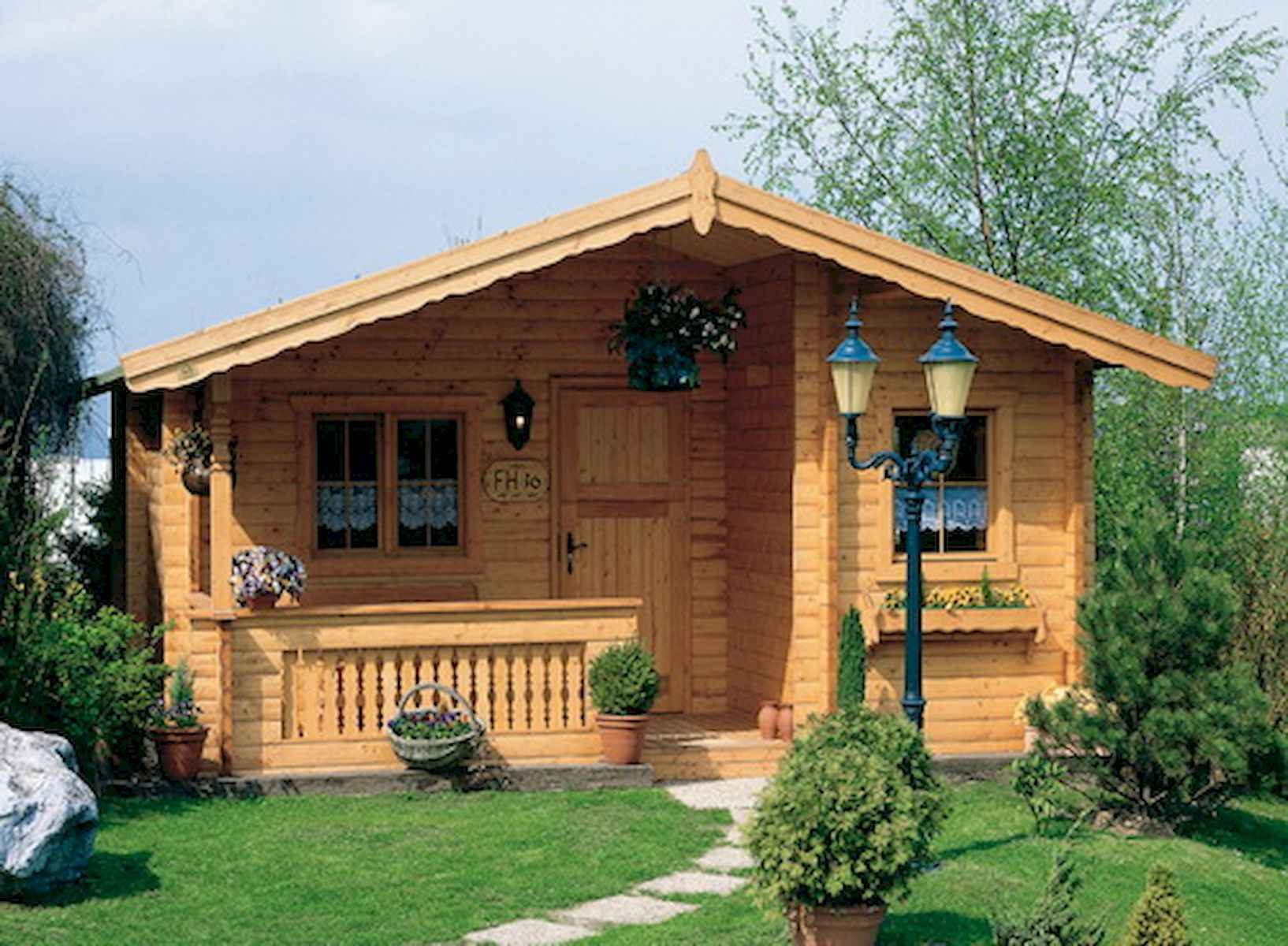 60 Rustic Log Cabin Homes Plans Design Ideas And Remodel (55)