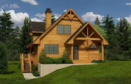 60 Rustic Log Cabin Homes Plans Design Ideas And Remodel (9)
