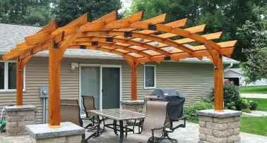 60 Stunning DIY Pergola Design Ideas And Remodel (45)