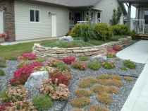 60 Stunning Low Maintenance Front Yard Landscaping Design Ideas And Remodel (18)