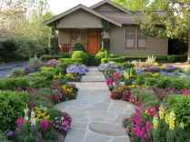 60 Stunning Low Maintenance Front Yard Landscaping Design Ideas And Remodel (28)