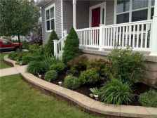 60 Stunning Low Maintenance Front Yard Landscaping Design Ideas And Remodel (37)