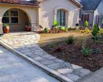 60 Stunning Low Maintenance Front Yard Landscaping Design Ideas And Remodel (41)