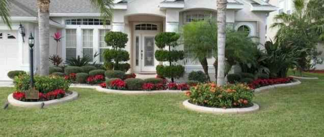 60 Stunning Low Maintenance Front Yard Landscaping Design Ideas And Remodel (44)