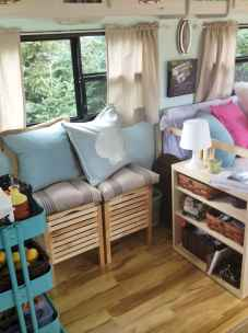 70 Stunning RV Living Camper Room Ideas Decorations Make Your Summer Awesome (43)