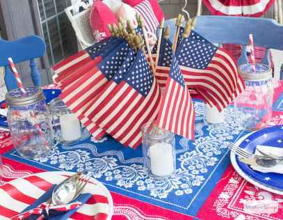 80 DIY America Independence Day Decor Ideas And Design (58)