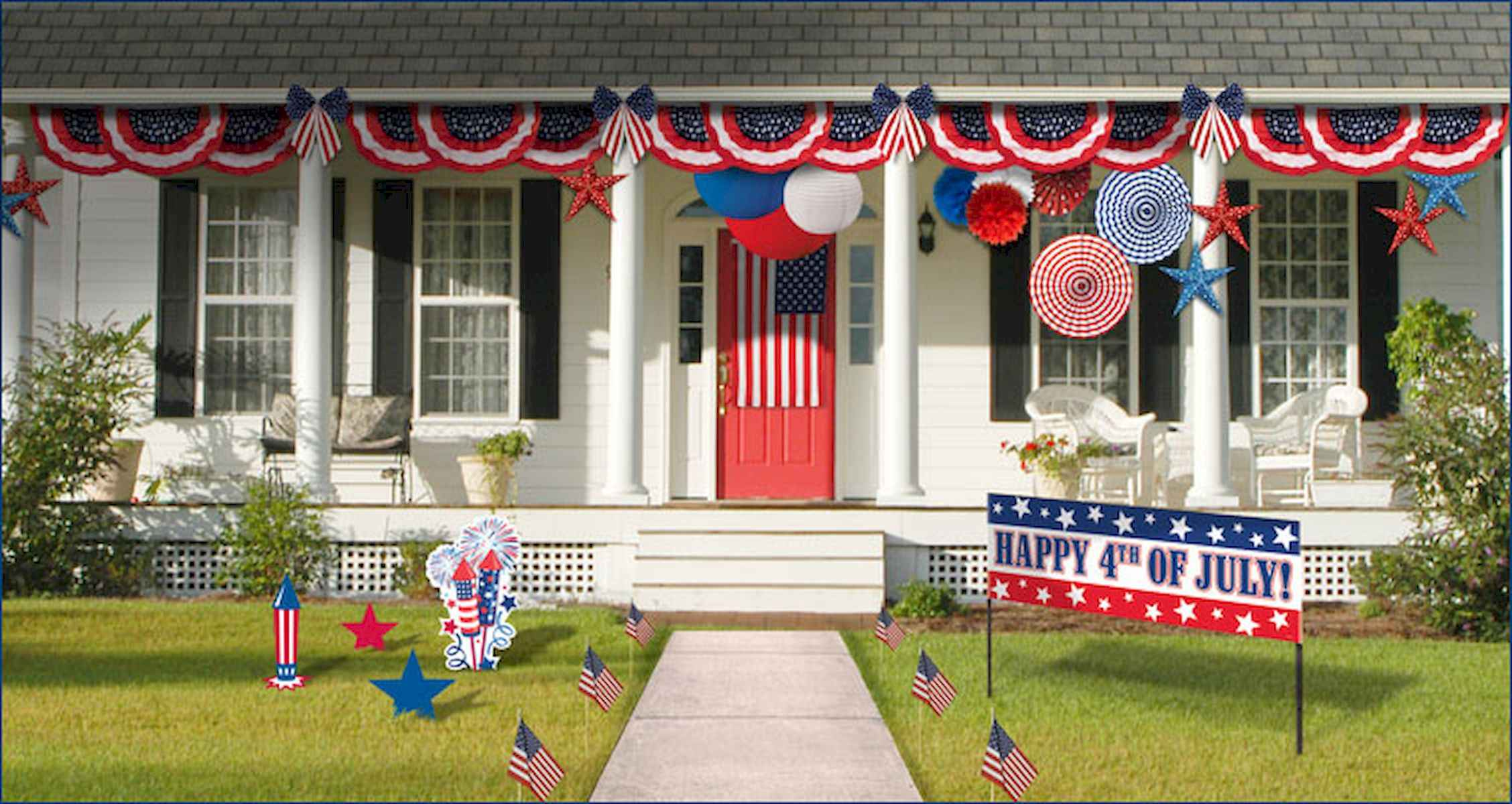 80 DIY America Independence Day Decor Ideas And Design (65)