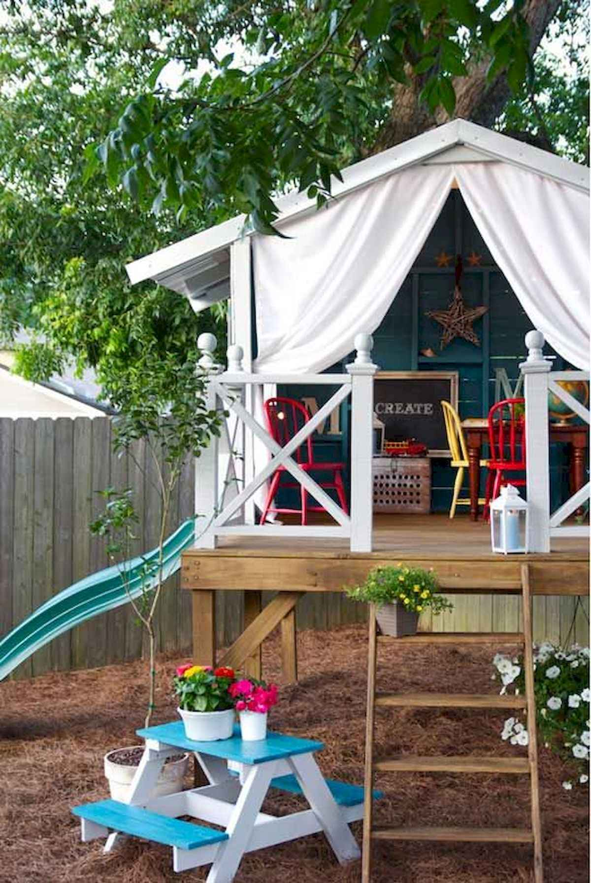80 DIY Summery Backyard Projects Ideas Make Your Summer Awesome (22)