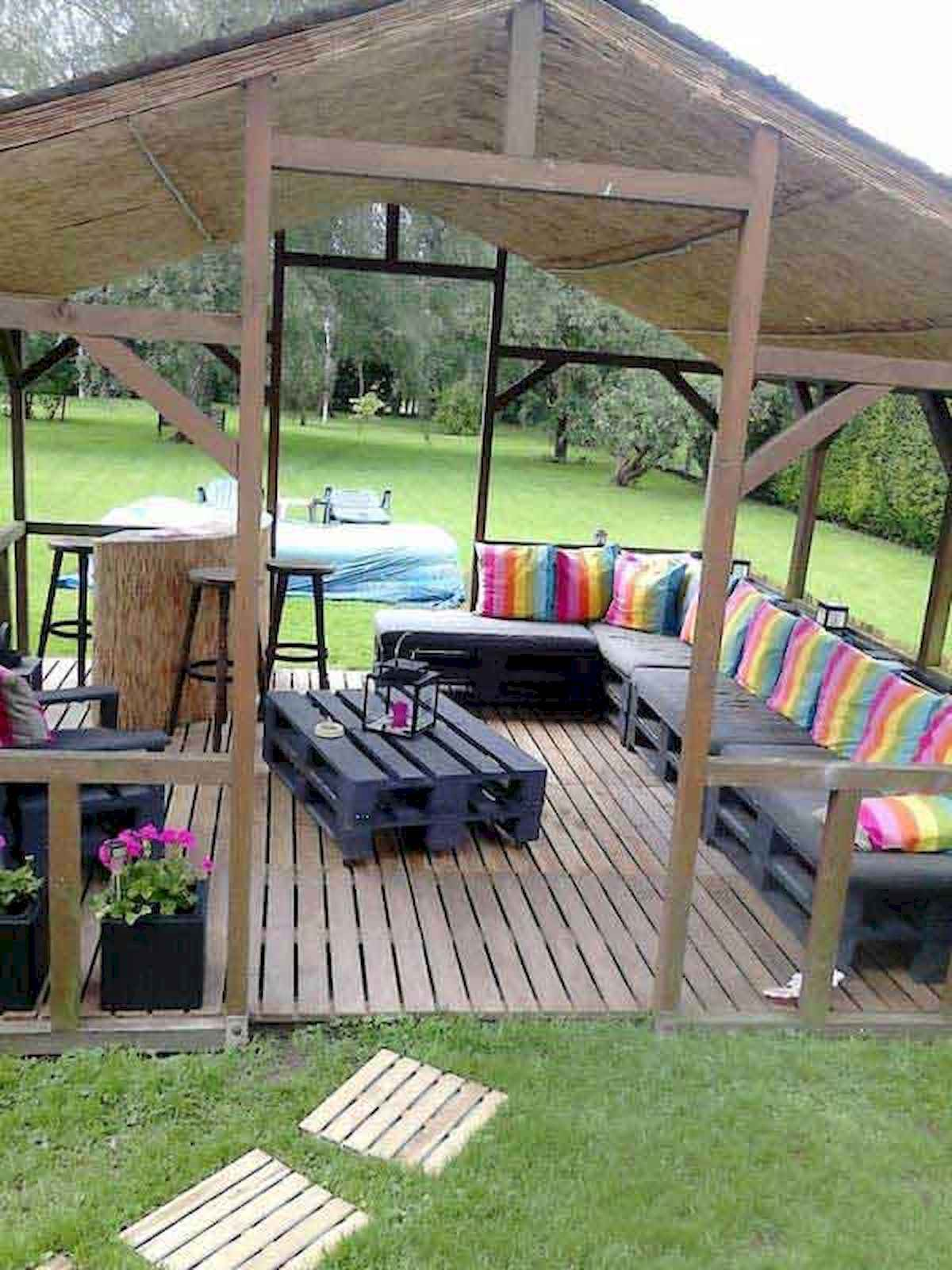 80 DIY Summery Backyard Projects Ideas Make Your Summer Awesome (56)