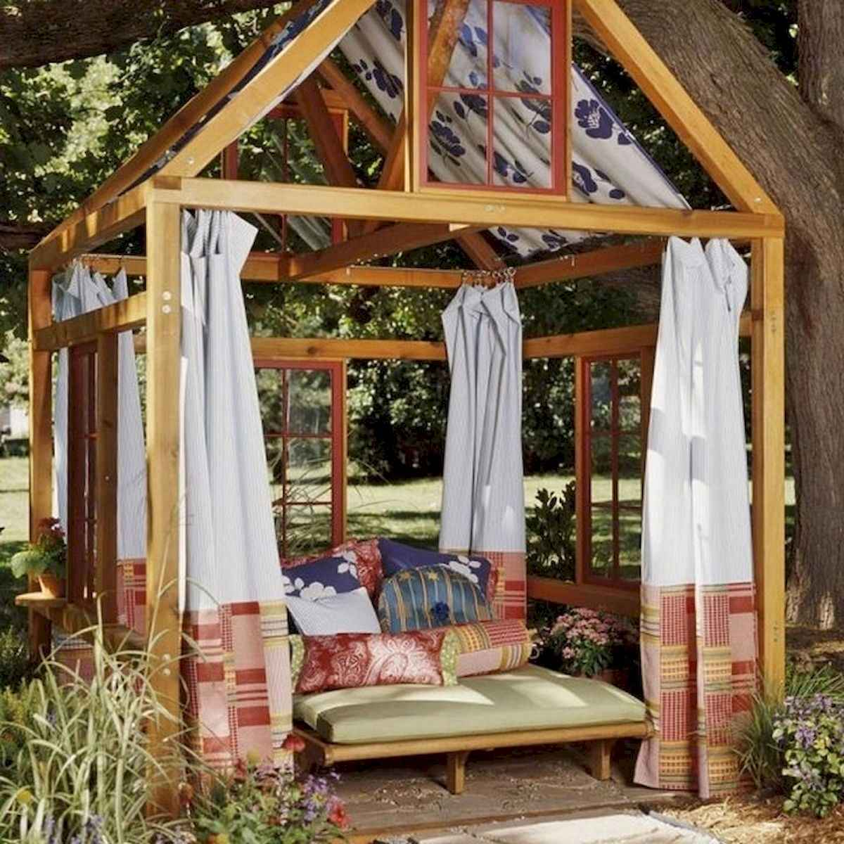 80 DIY Summery Backyard Projects Ideas Make Your Summer Awesome (8)