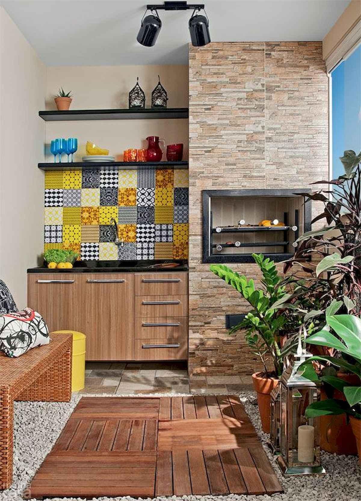 80 Small Apartment Balcony Decor Ideas And Makeover (43)