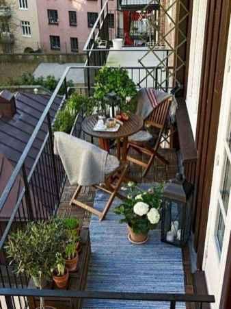 80 Small Apartment Balcony Decor Ideas And Makeover (49)
