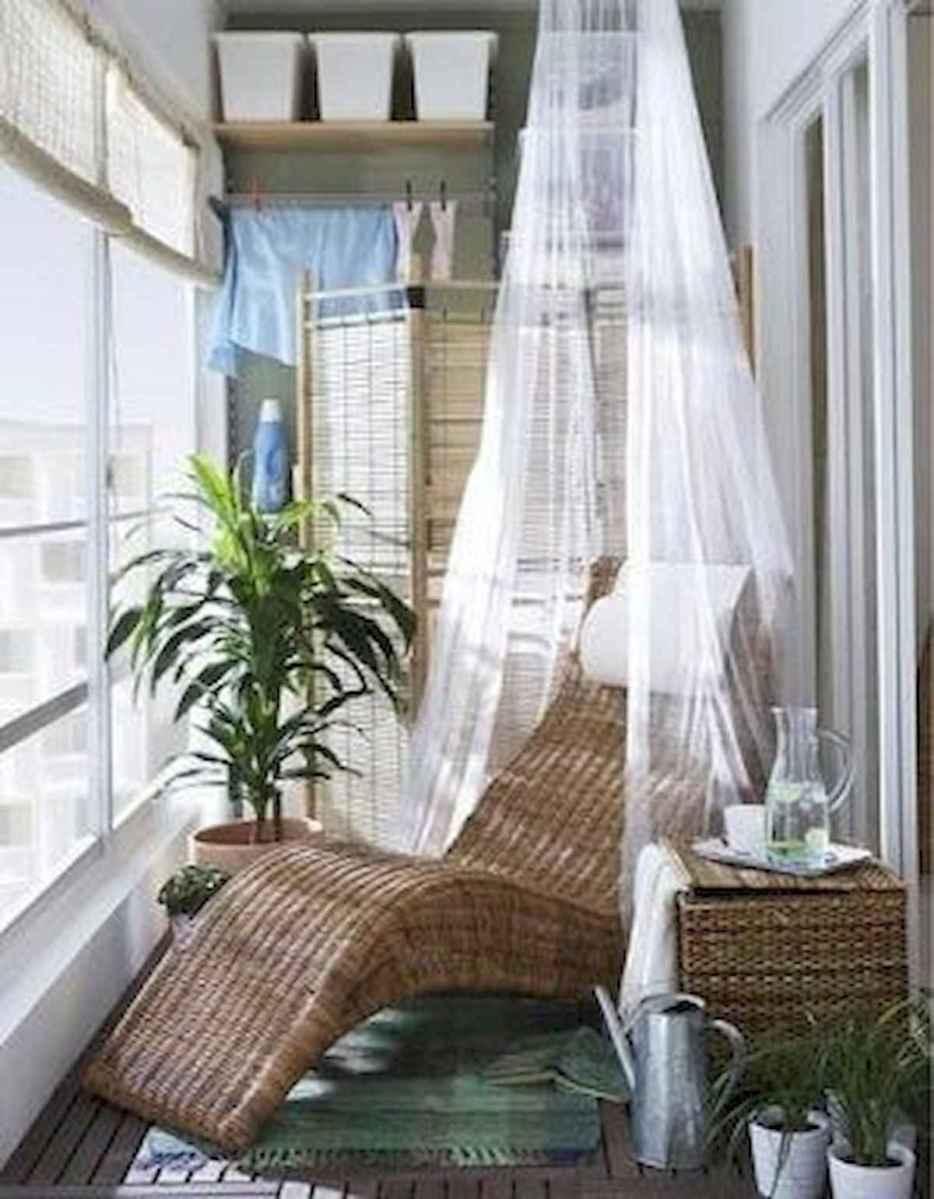 80 Small Apartment Balcony Decor Ideas And Makeover (50)