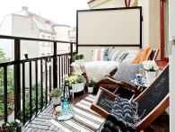 80 Small Apartment Balcony Decor Ideas And Makeover (52)