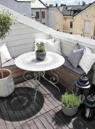 80 Small Apartment Balcony Decor Ideas And Makeover (66)
