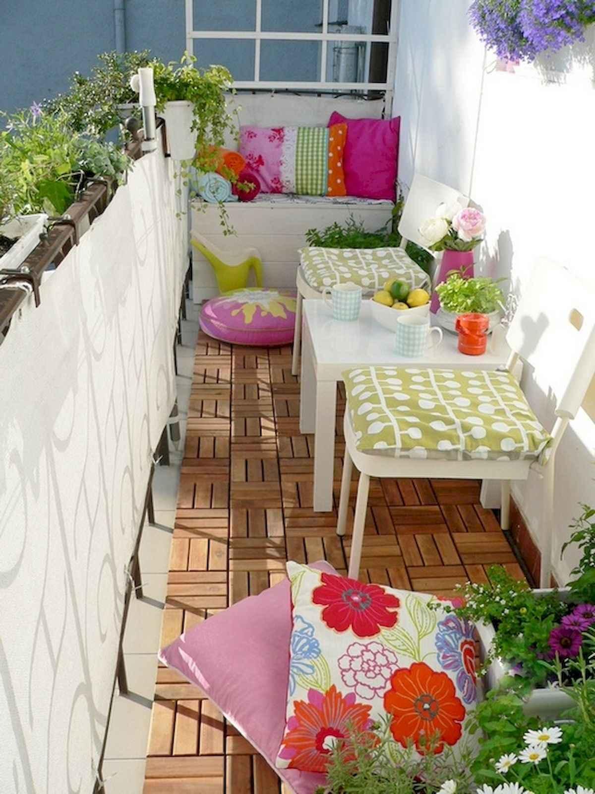 80 Small Apartment Balcony Decor Ideas And Makeover (9)