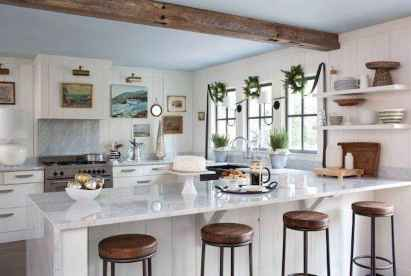 20 Creative Christmas Kitchen Decor Ideas And Makeover (17)