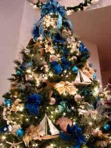 40 Creative Coastal Christmas Decor Ideas And Makeover (1)