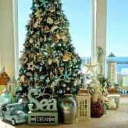40 Creative Coastal Christmas Decor Ideas And Makeover (2)