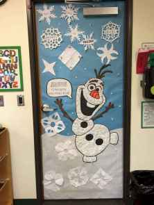 40 Creative DIY Christmas Door Decorations For Home And School (6)