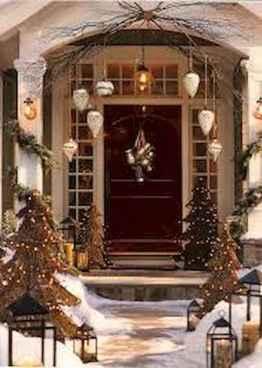 50 Creative Outdoor Christmas Decor Ideas And Makeover (30)
