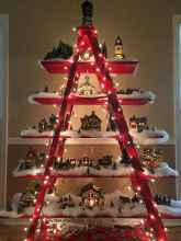 70 Creative Christmas Lights Apartment Decorating Ideas And Makeover (32)