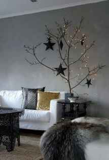 70 Creative Christmas Lights Apartment Decorating Ideas And Makeover (36)