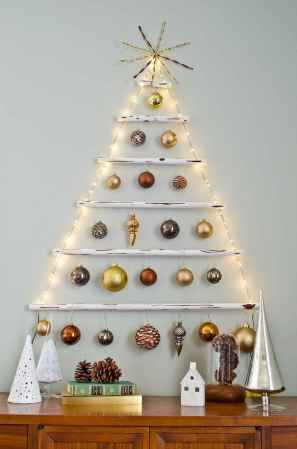70 Creative Christmas Lights Apartment Decorating Ideas And Makeover (66)