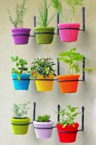 100 Beautiful DIY Pots And Container Gardening Ideas (43)