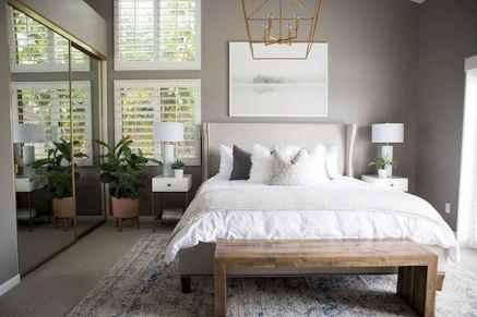 120 Elegant Farmhouse Master Bedroom Decor Ideas (101)