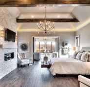 120 Elegant Farmhouse Master Bedroom Decor Ideas (6)