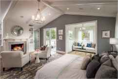 120 Elegant Farmhouse Master Bedroom Decor Ideas (71)