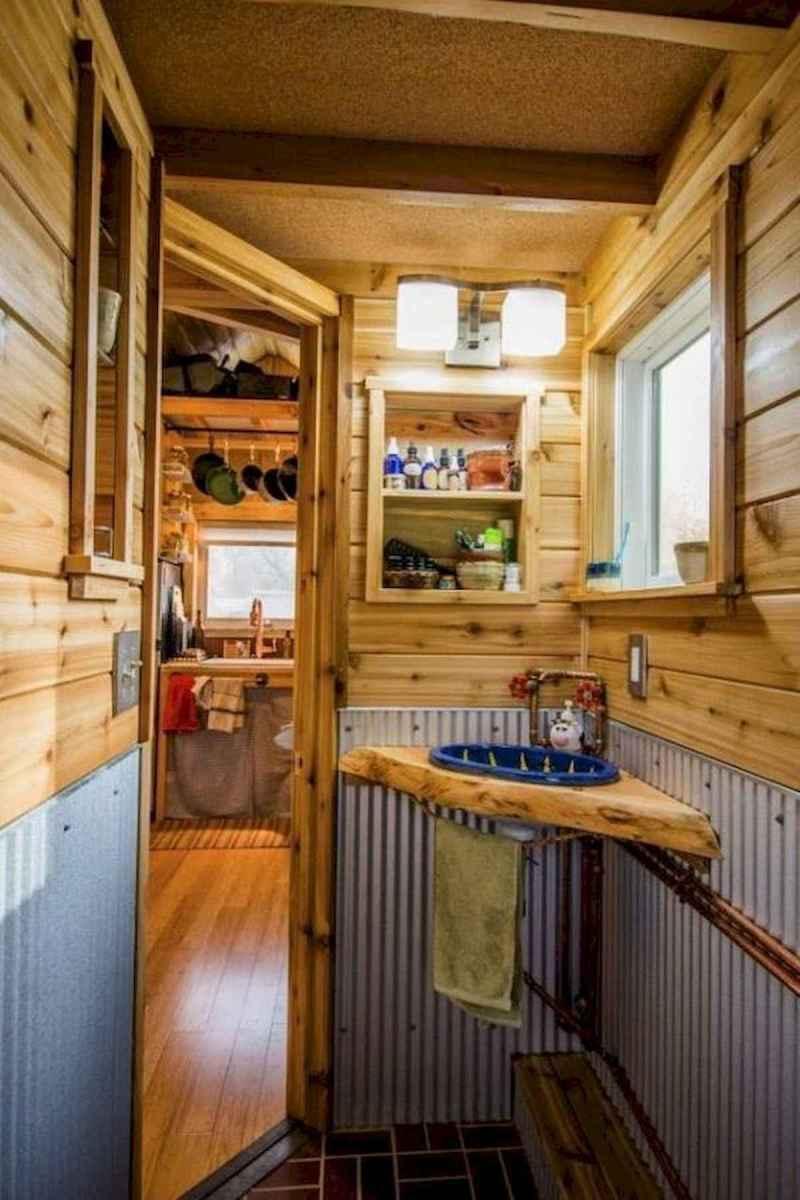 30 Genius Tiny House Bathroom Shower Design Ideas And Remodel (2)