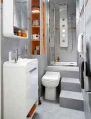 30 Genius Tiny House Bathroom Shower Design Ideas And Remodel (21)