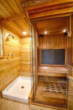 30 Genius Tiny House Bathroom Shower Design Ideas And Remodel (27)