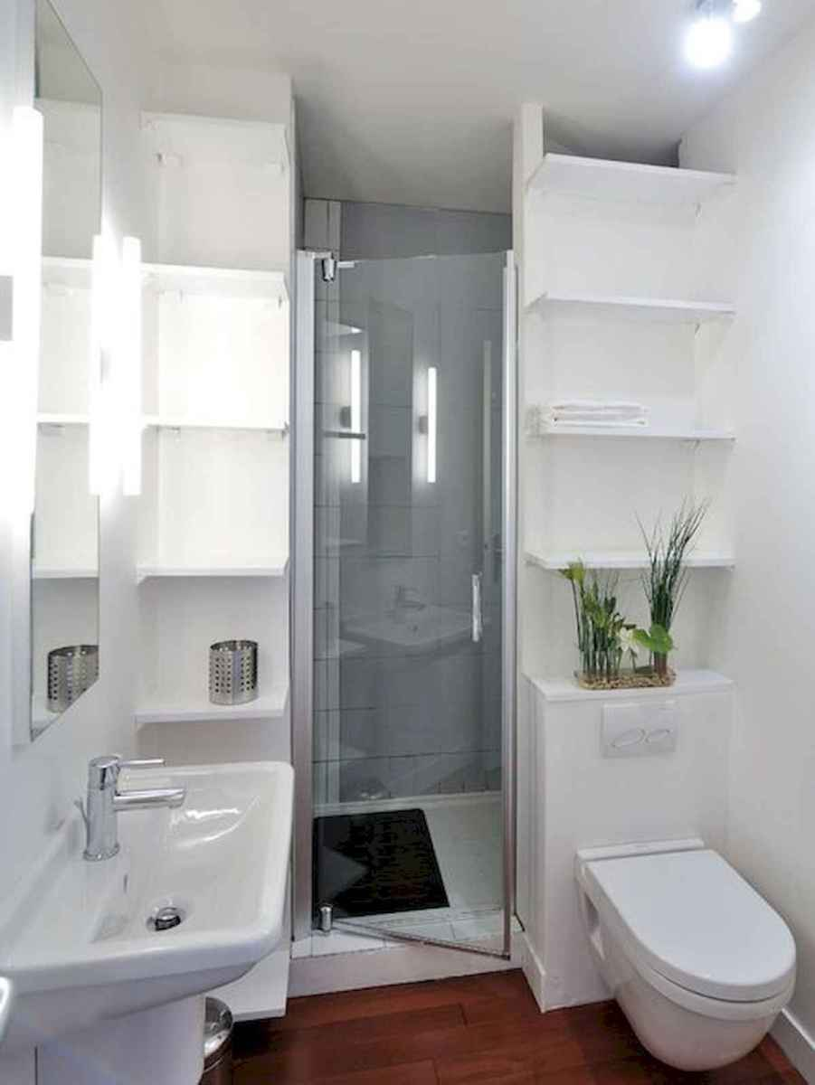 30 Genius Tiny House Bathroom Shower Design Ideas And Remodel (9)