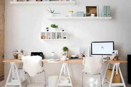 55 Brilliant Workspace Desk Design Ideas On A Budget (34)